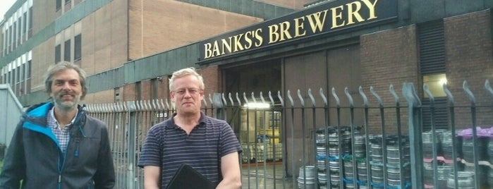 Banks's Brewery is one of Orte, die Carl gefallen.