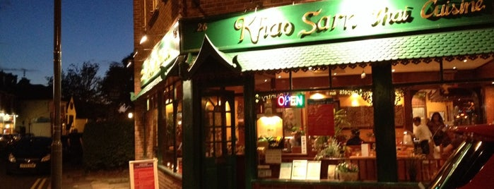 Khao Sarn is one of The best of London.