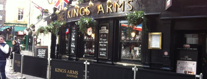 King's Arms is one of Restaurants London.