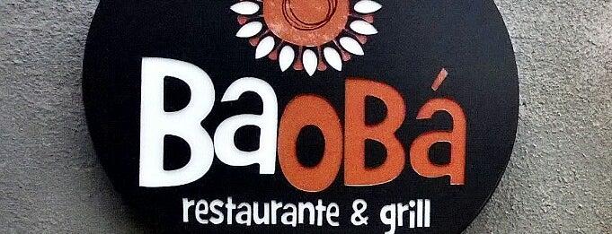 Baobá Restaurante & Grill is one of Locais curtidos por Alan Jefferson.