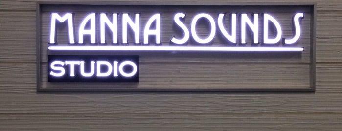 Manna Sounds Studio is one of Locais curtidos por Edward.