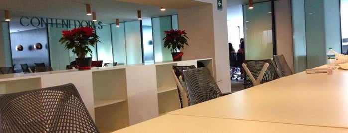 Impact Hub DF Oficial is one of Coworking Spaces DF.