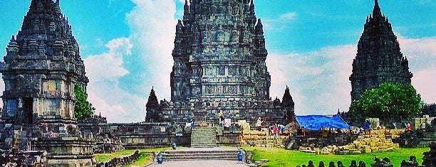 Candi Prambanan (Prambanan Temple) is one of Indonesia.