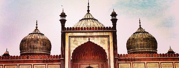Jama Masjid  |जामा मस्जिद | جامع مسجد is one of Orte, die Pelin gefallen.
