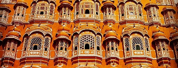 Hawa Mahal |  हवा महल is one of Locais salvos de Diego.