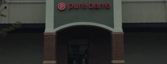 Pure Barre is one of Locais curtidos por Katherine.