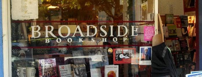Broadside Bookshop is one of Mass.