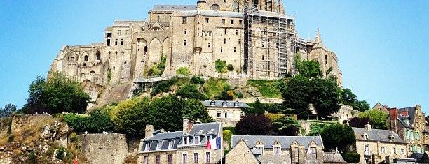 Le Mont-Saint-Michel is one of Les étapes du Tour de France 2013.