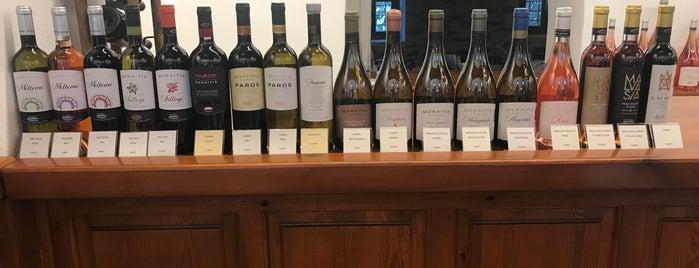 Moraitis Winery is one of Tempat yang Disukai Vangelis.