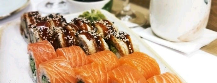 Sushi & Grill Bar is one of Best eating out places in Kiev.
