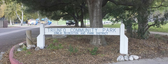 Triunfo Community Park is one of Lieux qui ont plu à Emily.