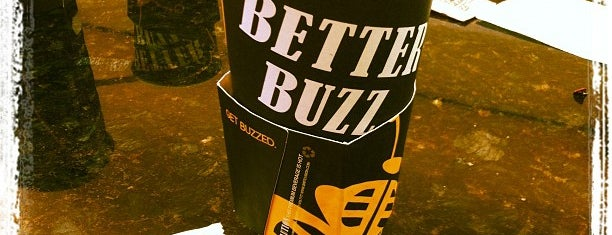 Better Buzz Coffee is one of Lugares favoritos de Dominic.