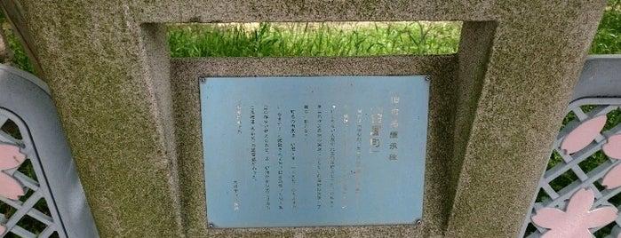 旧町名継承碑『臼屋町』 is one of 旧町名継承碑.