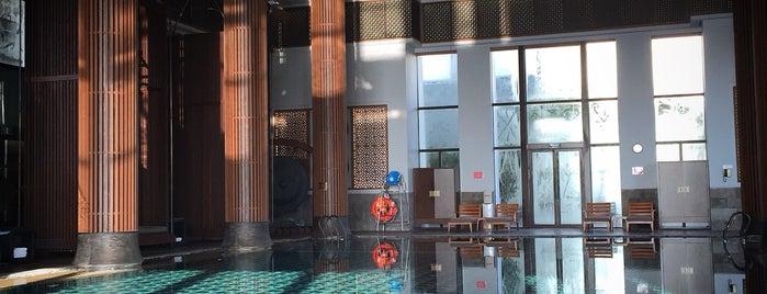 Park Hyatt Ningbo Resort & Spa is one of Tempat yang Disukai Simo.