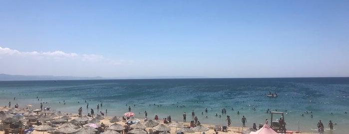 Ayazma Plajı is one of Tempat yang Disukai Sıla.