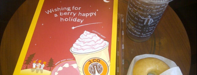 J.Co Donuts & Coffee is one of Orte, die Metin gefallen.
