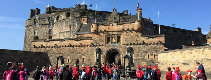 Edinburgh Castle is one of Edinburgh/2015.