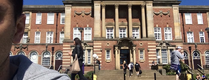 Headingley Campus Library is one of Leeds Beckett University Buildings.
