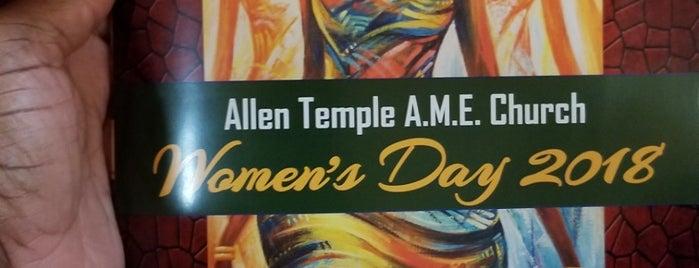 Allen Temple AME-Atlanta is one of Lugares favoritos de Alda.