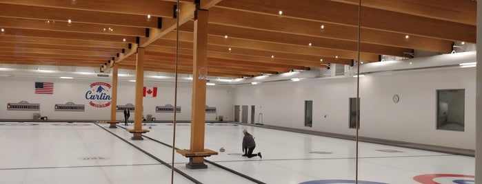 Chaska Curling Center is one of Lugares favoritos de Kristen.
