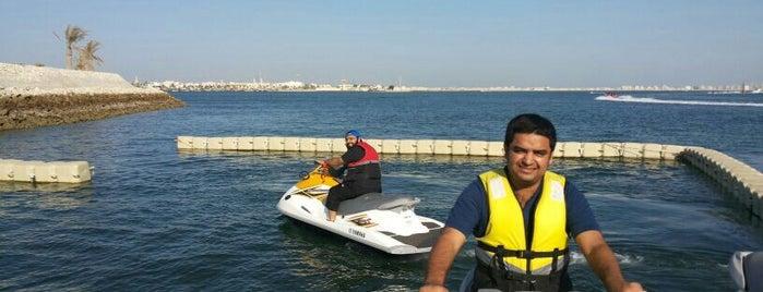 Marina beach club is one of Bahrain - The Pearl Of The Gulf.