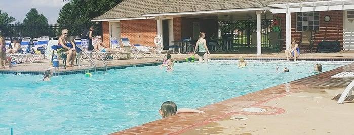 Bristol Park Neighborhood Pool is one of Lugares favoritos de Jennifer.