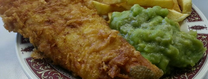 Mary Jane's Fish Bar is one of Norfolk.
