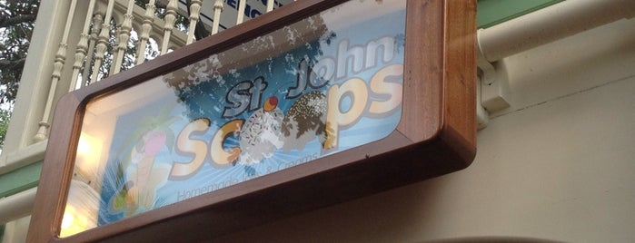 Scoops is one of St John.