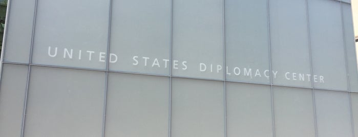 U.S  Diplomacy Center is one of DC Monuments Run.