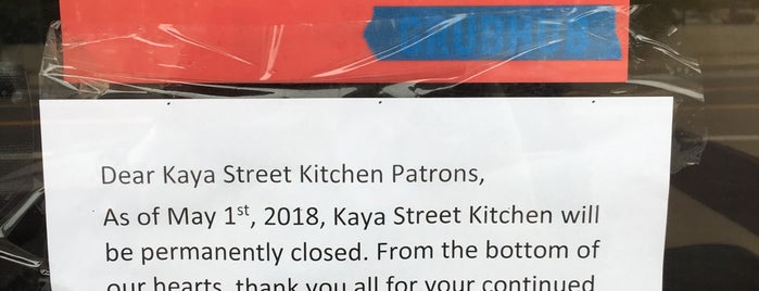 Kaya Street Kitchen is one of LA.