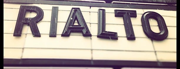 Rialto Theatre is one of Raleighwood USA.