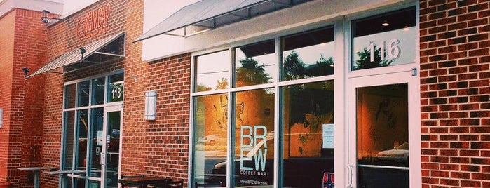 BREW | Coffee Bar is one of Raleigh POI.