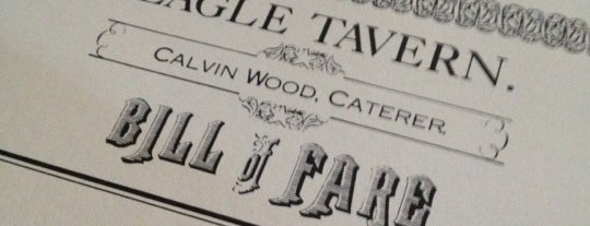 Eagle Tavern is one of Locais curtidos por MaryEllen.