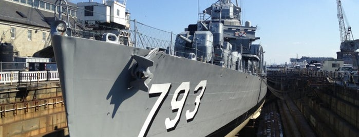 USS Cassin Young is one of Boston.