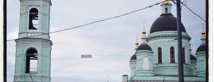 Храм Сергия Радонежского в Рогожской слободе is one of สถานที่ที่บันทึกไว้ของ Olga.