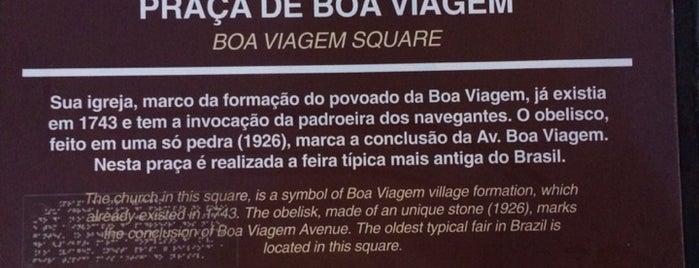 Praça de Boa Viagem is one of Tempat yang Disukai Joao Ricardo.