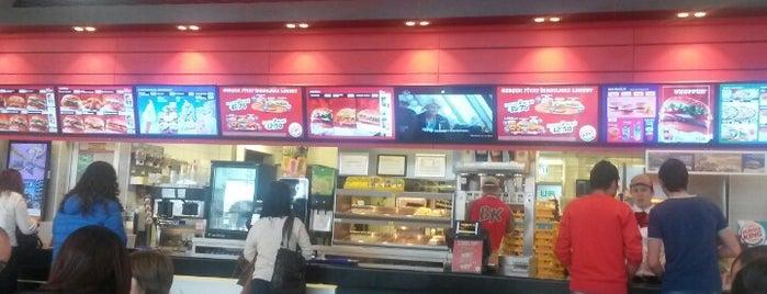Burger King is one of Yunus'un Beğendiği Mekanlar.