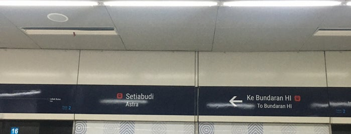 Stasiun MRT Setiabudi is one of MRT trip.