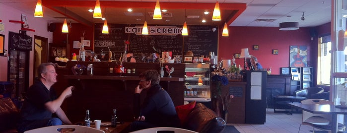 Caffe Crema is one of Calgary's Third-Wave Coffeehouses.