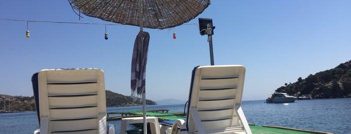 Kargı Restaurant & Green Beach is one of Marmaris & Datça & Knidos & Selimiye.