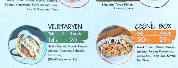 Çeşnili Döner is one of Locais curtidos por Güler.