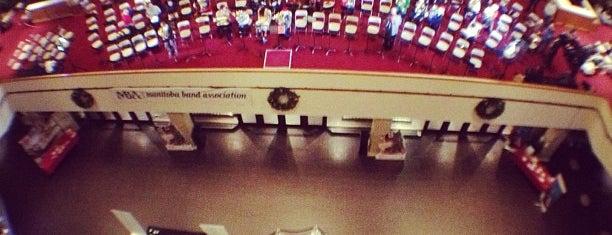 Centennial Concert Hall is one of Winnipeg.