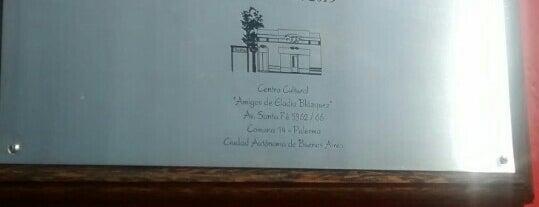 Centro Cultural Amigos de Eladia Blázquez is one of Lugares favoritos de G.