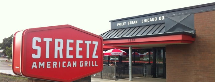 STREETZ American Grill is one of Places to check out.