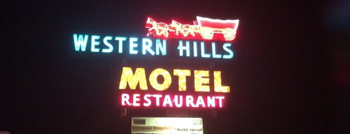 Western Hills Motel is one of Neon/Signs West 3.