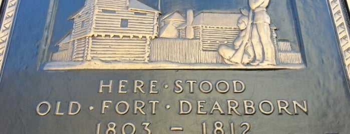 Fort Dearborn is one of Historic America.