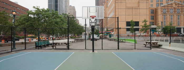 Battery Park Basketball Courts is one of Fav Places.
