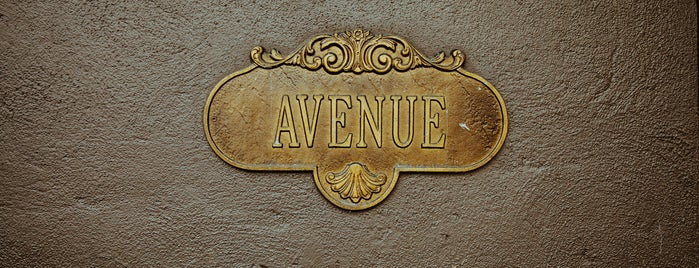 Avenue is one of NYC.