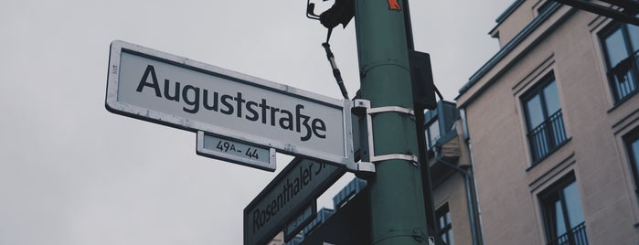 Auguststraße is one of Berlin.