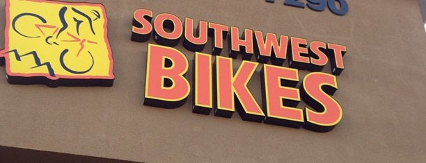 Southwest Bikes is one of Orte, die George gefallen.